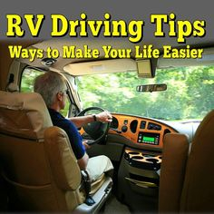 RV Driving Tips - Ways to Make Your Life Easier: Piloting a big rig is a lot of… Rv Camping Checklist, Rv Camping Tips, Camping Ideas, Camping Supplies, Camping Essentials, Outdoor Camping, Camping List, Camping Stuff, Do It Yourself Camper
