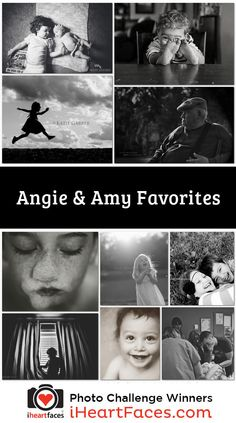 B&W Photo Challenge | Angie & Amy Favorites  #iheartfaces #photography