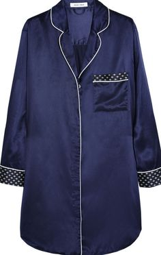 Camisa de dormir em seda Olivia von Halle, 427€.