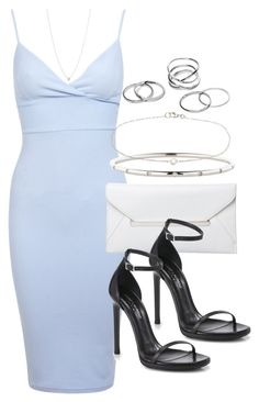 """Style #9125"" by vany-alvarado ❤ liked on Polyvore featuring мода, Miss Selfridge, Elsa Peretti, Yves Saint Laurent, Tiffany & Co. и Finn"