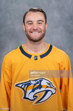 News Photo : Rocco Grimaldi of the Nashville Predators poses. Predators Hockey, John Russell, Nashville, Poses, News, Mens Tops, Figure Poses
