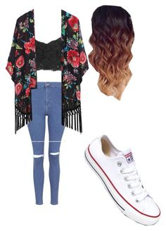 Untitled #236 by fangirlmuch on Polyvore featuring polyvore, fashion, style, MANGO, Topshop and Converse