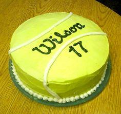 Geschenk Geburt - Tennis Cake wilson birthday - For all your cake decorating supplies, please visi. Tennis Cupcakes, Tennis Cake, Tennis Party, Sport Cakes, Funny Cake, Cake Decorating Supplies, Themed Cakes, Let Them Eat Cake, Cake Designs