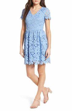 Dee Elly Lace Skater Dress