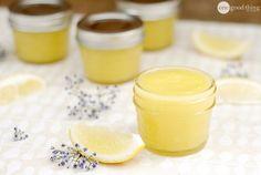 Organic healing salve: coconut oil, olive oil, beeswax, vitamin E + lavender, lemon, and tea tree EOs
