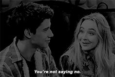 Yes!!! He's not saying no!! Look at his face!!! He so loves her!!!!