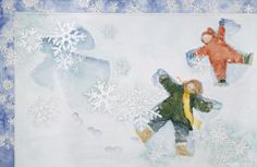 """""""Snow Speaks"""" Limited edition giclee prints by Jane Dyer available at R. Michelson Galleries."""