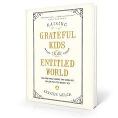Pre-order your copy today!  #RaisingGratefulKids