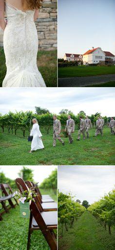 Connecticut neyard Wedding from Hales Studio