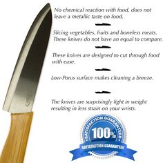 Check out our amazing new Ceramic Knives on http://www.amazon.com/Premium-Ceramic-Anti-bacterial-Handles-material/dp/B01BVM8444/