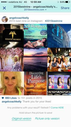Best 9 Instagram Best Nine, In 2015, Self Discovery, Self Publishing, Life Purpose, Positive Affirmations, Our Life, Perfect Match, Law Of Attraction