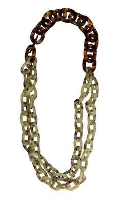 Mint Italian Resin Necklace – Wendy Mink Jewelry