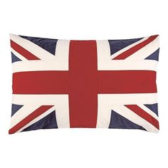 Rothlay Union Jack Pillow Cover