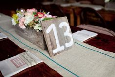 table decorations rustic chic - Google Search