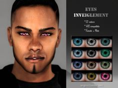 colors Found in TSR Category 'Sims 4 Female Costume Makeup' Sims 4 Cc Eyes, Sims Cc, The Sims 4 Skin, Sims Packs, Sims Baby, Male Makeup, Sims Mods, Sims 4 Custom Content, Games For Girls