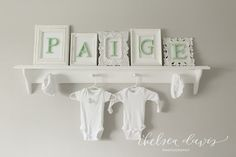 Cute DIY Nursery Nam