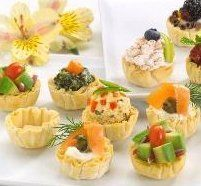 Fillo Shells 264 Piece Tray. Your Shipping Price Goes Down As You Buy More Appetizers. by Appetizer Store Price: $92.99 ($35.22 / 100 Items) Create your own signature hot or cold appetizers & desserts with our gourmet fillo shells. Our fillo shells will be shipped via Fedex ground and take an average of 3-5 business days to arrive.