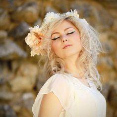 Flower wreath by Magaela