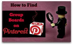 4 Easy Tools for Finding Group Boards on Pinterest!  http://www.wonderoftech.com/pinterest-group_board-directories/  #Pinterest #tools