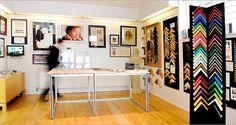 Frame Shop, Store Design, Photo Studio, Office Desk, Studios, Rabbit, Workshop, Design Ideas, Google Search