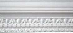 Large Decorative Georgian Cornice, Projection - 280mm, Height - 252mm, Length 2.25m
