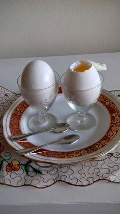 Copos de licor usados para ovos quentes