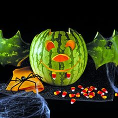 Move Over Pumpkin Watermelon Carving for Halloween is the Newest Thing