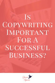 Is Copywriting Important For A Successful Business? I share copywriting tips, why it's important, and ideas for online business owners, bloggers, girl bosses and freelancers. Repin and grab a copy of my funnel cheat sheet! #DawnApuan #copywriting #blogging #entrepreneur