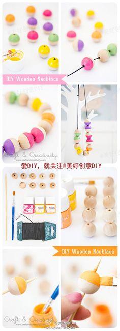 Wooden Beads Heart-Shape Mix Color À faire soi-même Décoration Bijoux Accessoires 20 mm