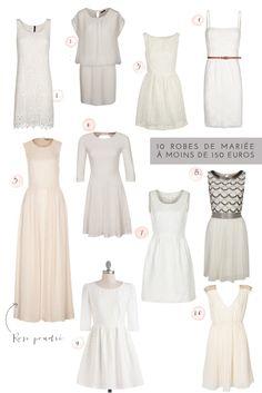 ©La mariee aux pieds nus - 10 robes de mariee a moins de 150 euros