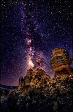 The Amazing Milky Way in Tenerife
