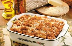 Turkey & Ziti Casserole - Grandma often cooked for a crowd of children, so she was glad to have this kid-pleasing recipe.