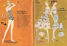 vintage Barbie booklet...I always loved these booklets...where can I get them now?