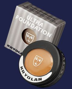 Kryolan Professional Make-up - Ultrafoundation... The only foundation I always keep on going back to
