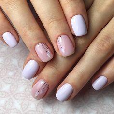 Make an original manicure for Valentine's Day - My Nails Elegant Nail Designs, Elegant Nails, Classy Nails, Stylish Nails, Simple Nails, Trendy Nails, Hair And Nails, My Nails, Paris Nails