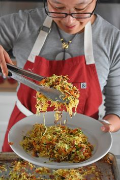 Crispy Swoodles with Bacon | Award-Winning Paleo Recipes | Nom Nom Paleo®