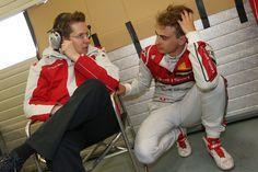 Ossi Oikarinen, Nico Müller - Motorsports / DTM Testfahrten Estoril