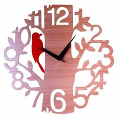 Klok 1 To 12 Tree  Wall Clock,Wall Clocks-Wall-Clocks