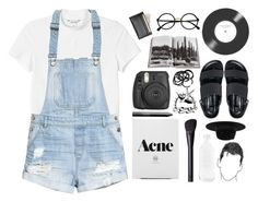 """""""""""unveiling the unexpected"""" ❁"""" by rock-n-roll-princess-xo ❤ liked on Polyvore featuring Monki, H&M, Senso, Retrò, Assouline Publishing, Polaroid, NARS Cosmetics, Royce Leather, Warehouse and canvas"""