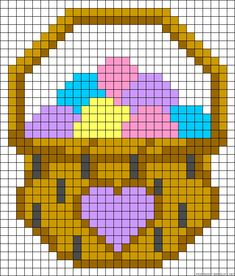 Free Easter Perler Bead Patterns for Kids