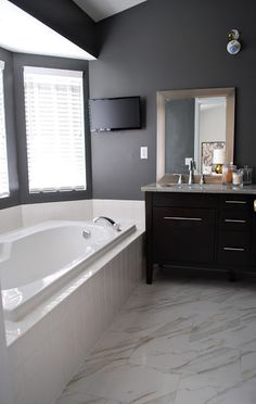Kendall Charcoal By Benjamin Moore Master BathroomsSmall BathroomsAccent Wall