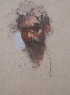 nathan ford. amazing. 'Abi' Oil on Canvas 20 x 28 cm.