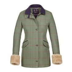 644e93dc592bf Musto Jacket- Without fur cuffs Tweed Coat, Tweed Jacket, Quilted Jacket,  Suit