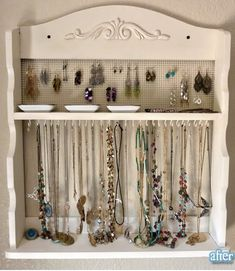 16 of our best storage ideas for kids' stuff - Today's Parent. Perfect play jewelry & nail polish rack for a tween - old spice rack