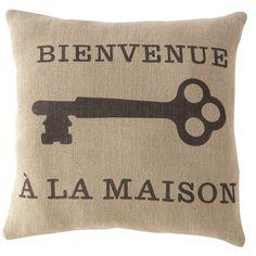 Bienvenue Pillow TOO CUTE