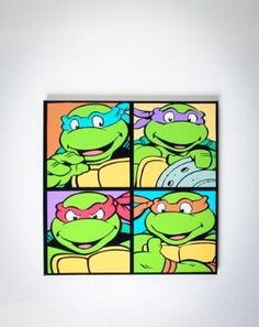Teenage Mutant Ninja Turtles! Need I say more?