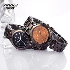 SINOBI Luxury Full Steel Watches Top Brand Fashion Business Watch Men Watch Hour Quartz Clock Relogio Masculino Reloj Hombre