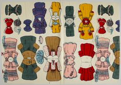 78.14184: Dennison's Dolls and Dresses No. 37 | paper doll | Paper Dolls | Dolls | National Museum of Play Online Collections | The Strong