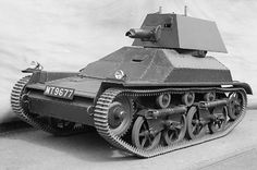 The first British light tank, the Mark I, evolved from the Carden-Loyd Carrier. The Mark II was produced in larger numbers and issued for service. Army Vehicles, Armored Vehicles, British Army, British Tanks, British Armed Forces, Sherman Tank, Tank Destroyer, Armored Fighting Vehicle, Cool Tanks