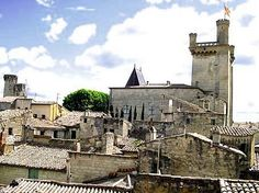 Loved Uzes in S. The medieval town was wonderful and the apartment, perfect. Great Vacations, Medieval Town, France Travel, Vacation Rentals, Hotels, Mansions, House Styles, France Destinations, Fancy Houses